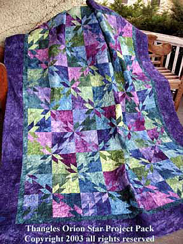 The Hobby Horse Quilt Shoppe Orion Star Quilt