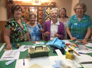 Paper Piecing with Gail July 2015